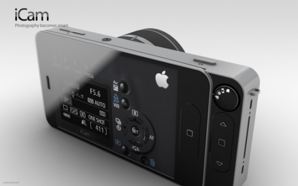 iCam concept turns your iPhone into camera.