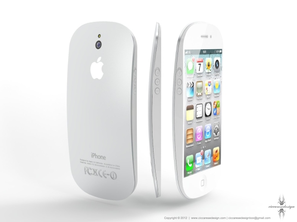 iPhone 5 design high speed video